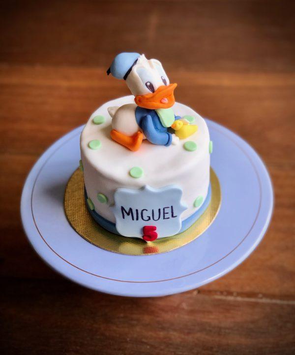 Bolo Mesversário Pato Donald