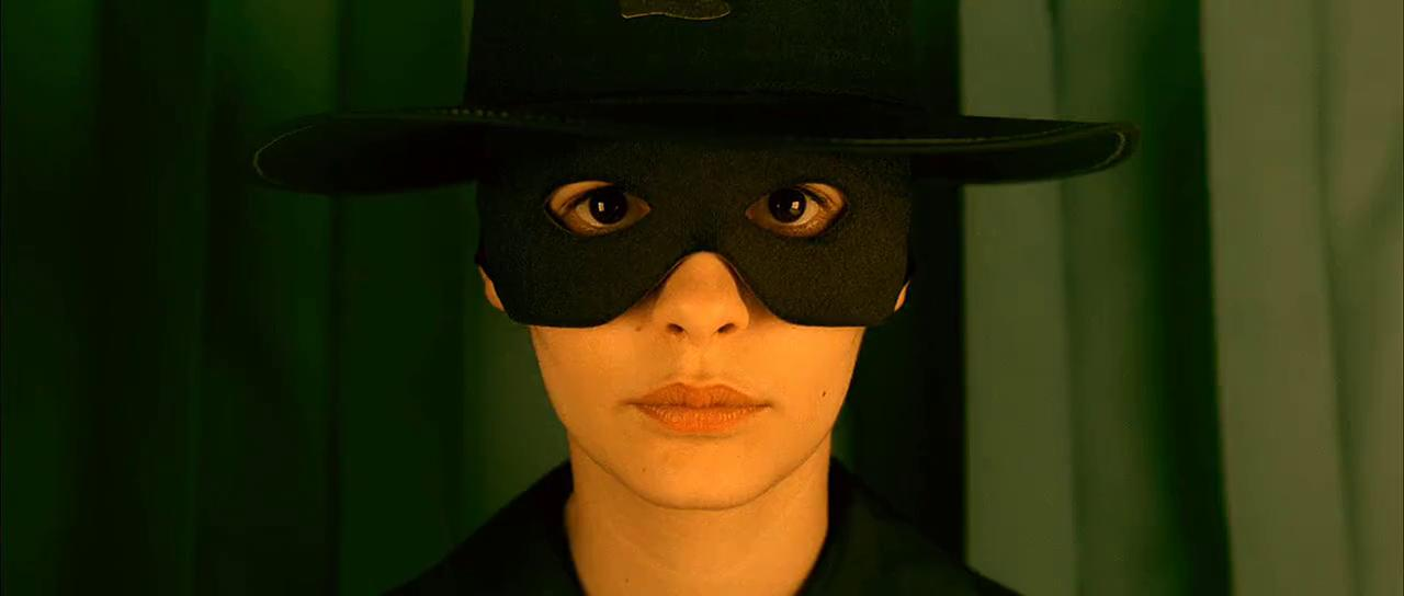 Amélie Poulain - Máscara Zorro